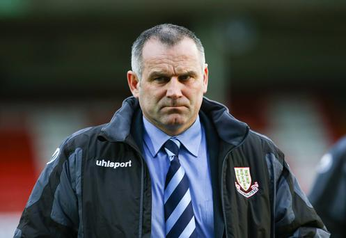 Ballymena United manager Glenn Ferguson signed a new one year extension to his deal