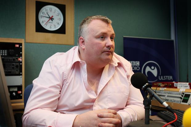 Stephen Nolan met homeless Ryan after he went out on the streets of Belfast at Christmas time