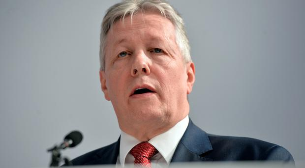 Northern Ireland First Minister and DUP leader Peter Robinson