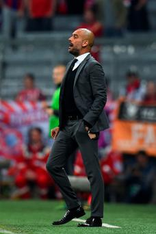 Bayern Munich head coach Pep Guardiola will face his old club Barcelona in the Champions League semi-final