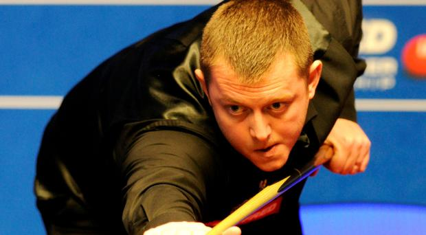 On cue: Mark Allen had chances to reach last eight