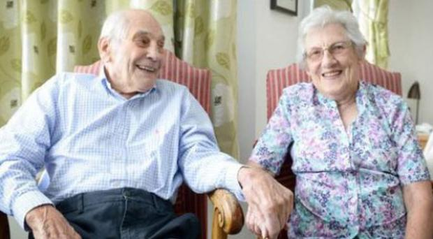 George Kirby, 103, and Doreen Luckie, 91, will marry after 27 years together