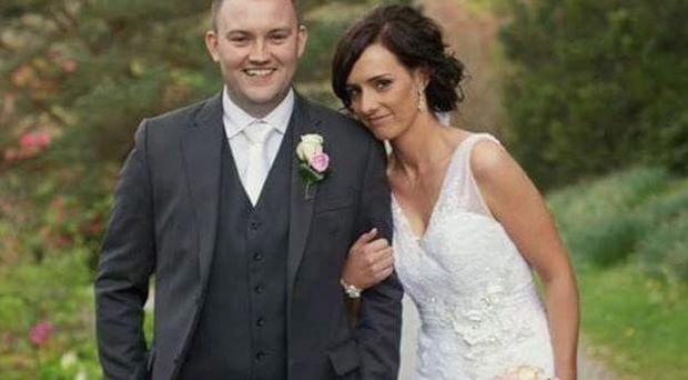 Fermanagh Hurler Shane Mulholland's wedding to Catherine Mulholland Ruddick