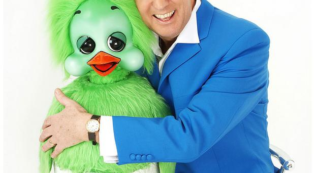 Fitting: Family and friends paid tribute to entertainer Keith Harris