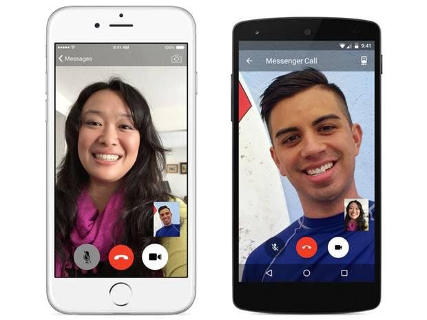 Facebook Messenger app allows anyone with the app and an internet connection to video chat