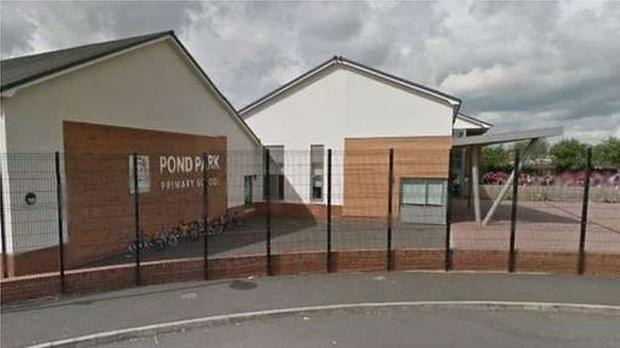 Pond Park Primary School in Lisburn. Pic BBC