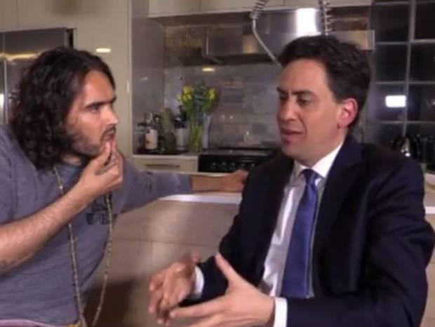 The Trews: Russell Brand's 'true news' videos attract millions of viewers. But today's 'Milibrand' interview introduced him to a whole new crowd