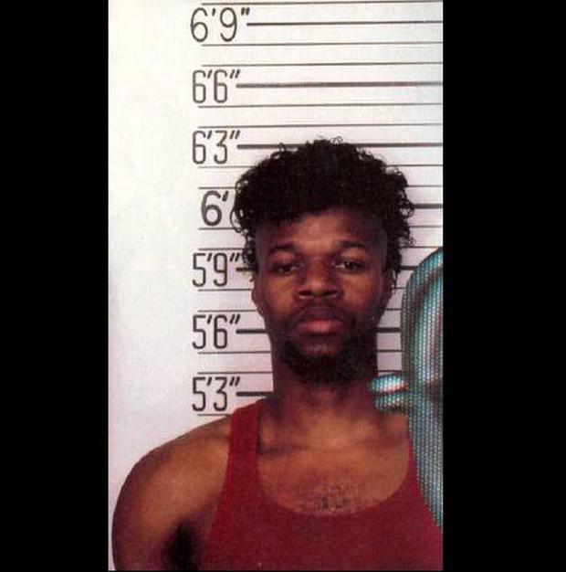 Christopher Scarver's mugshot, taken in 1992 (he's now 45)