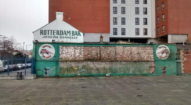 Barrow Square, at Belfast Harbour, is ready for its new mural - but which one would you like to see painted?
