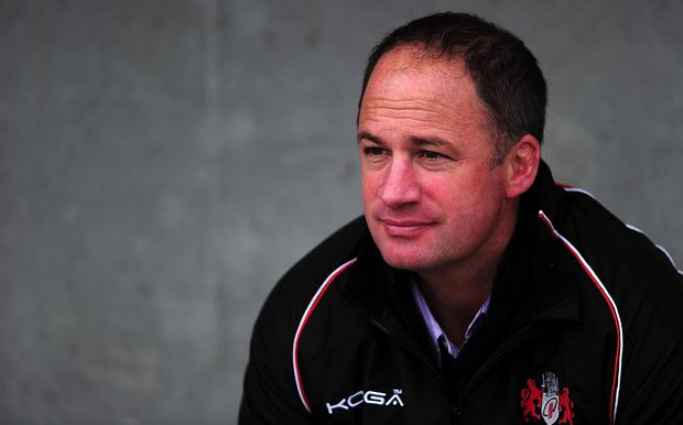 Challenging time: David Humphreys' Gloucester team take on Alan Solomons' Edinburgh in the Challenge Cup final