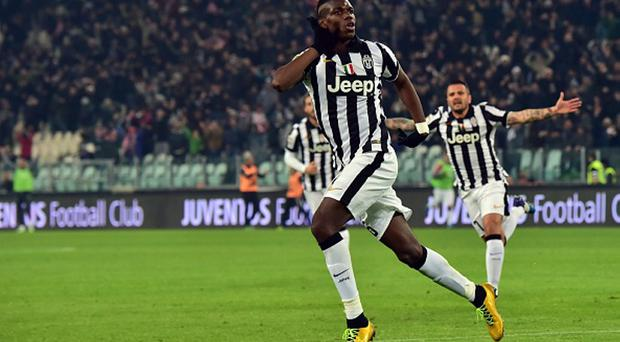 Juventus' midfielder from France Paul Pogba