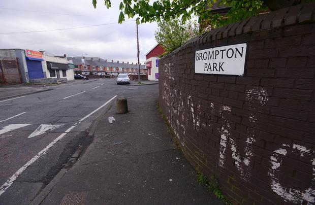 Security alert in North Belfast, in the Brompton Park area of the Crumlin Road in Belfast. Police have urged people not to approach any suspicious objects. Picture By: Arthur Allison/Pacemaker.