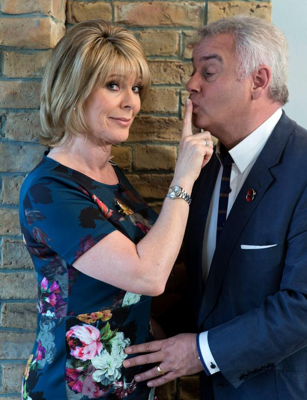 Eamonn Holmes and wife Ruth Langsford lend their support to #KissforVEDay campaign to help celebrate the 70th anniversary of Victory in Europe Day.