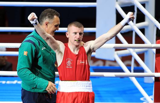 Paddy Barnes (Ireland) vs Singh Laishram (India)