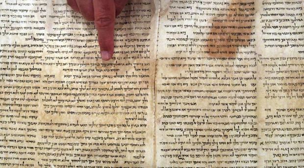 The Dead Sea Scrolls are almost 1,000 biblical manuscripts discovered in the decade after World War 2, in what is now the West Bank.