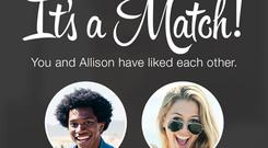 Men make up 62 per cent of Tinder users