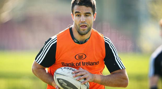 Silver lining: Conor Murray is focused on Pro12 glory