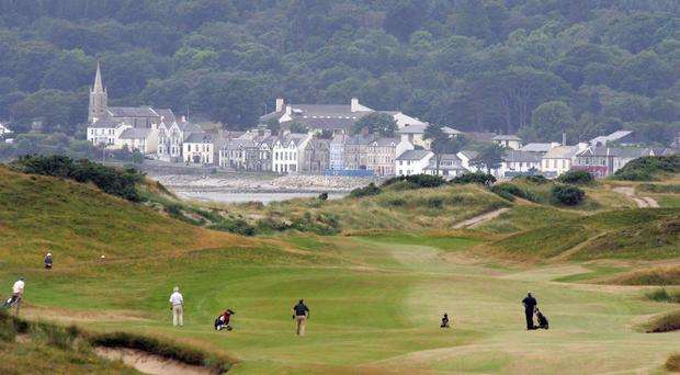 Pictured: Royal County Down will host the initiative from 28-31 May.