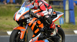 Jeremy McWilliams at last week's North West 200