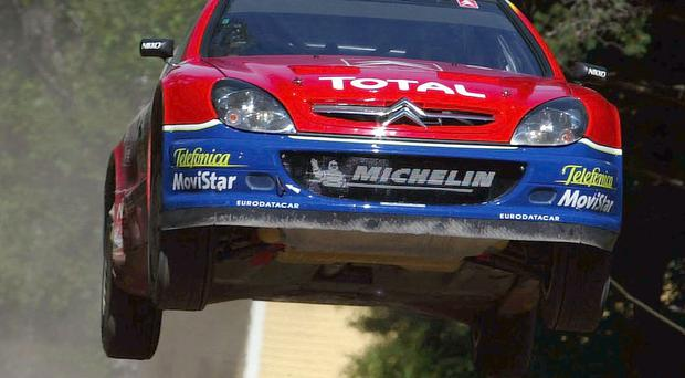 Paying tribute: Kris Meeke will race his mentor Colin McRae's Citroen Xsara WRC in the McRae Rally Challenge