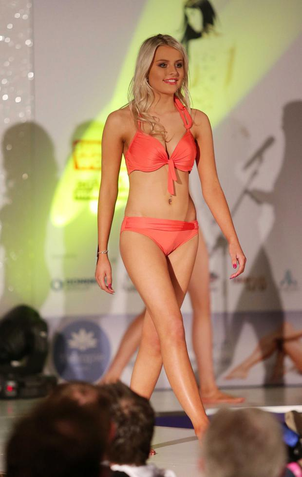 Press Eye - Belfast - Northern Ireland - 11th May 2015 Picture by Jonathan Porter / Press Eye Therapy Miss Northern Ireland finals at the Europa Hotel in Belfast. Melissa Anderson