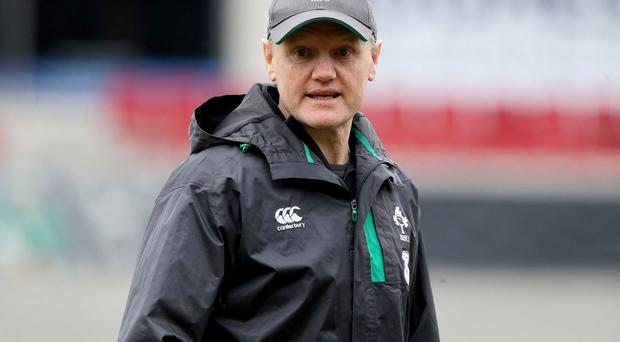 Ireland Rugby Open Training Session, Kingspan Stadium, Belfast 5/3/2015 Head coach Joe Schmidt