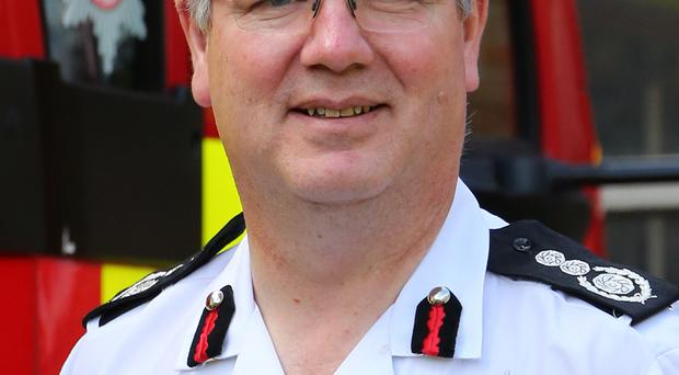 New Northern Ireland Fire & Rescue Service Interim Chief Fire Officer Dale Ashford.