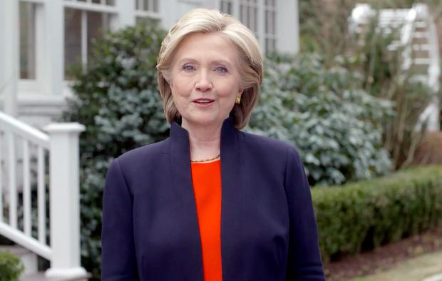 Presidency bid: Hillary Clinton