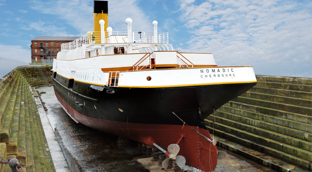 Belfast's SS Nomadic set to take centre stage.