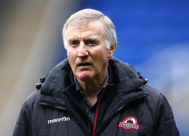 Staying put: Alan Solomons has signed again in Edinburgh