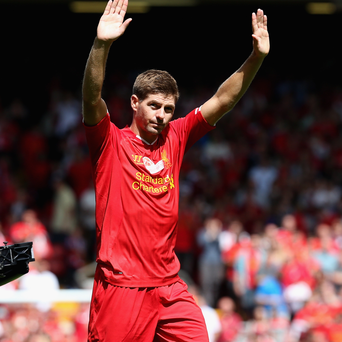 Steven Gerrard's days at Liverpool are coming to an end