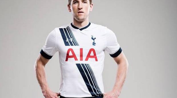 Harry Kane new kit