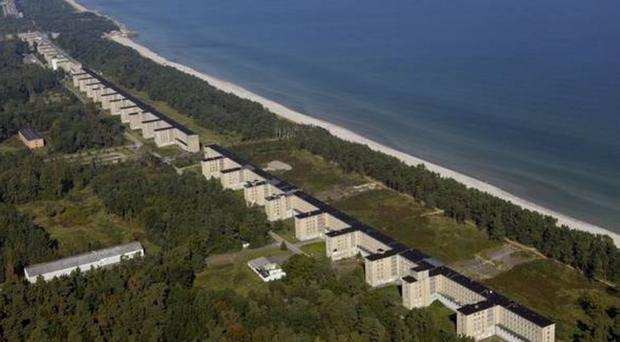 The Nazis answer to Butlins; the seaside apartments at New Prora.