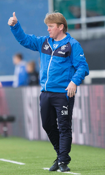 Interim Rangers manager Stuart McCall has not given up hope of landing the job on a permanent basis himself