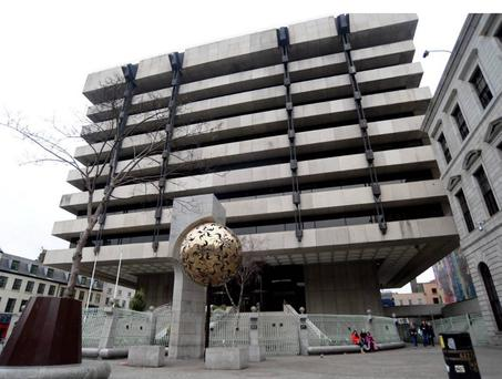 Hackers have stolen up to €32,000 from the Irish Central Bank in an elaborate money transfer scam.