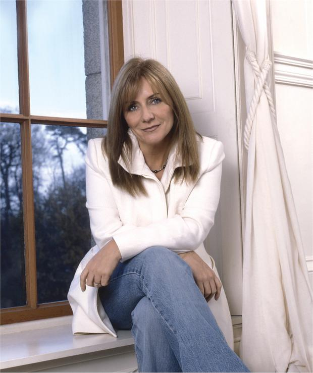 Helping others: singer Frances Black founded the Rise Foundation charity