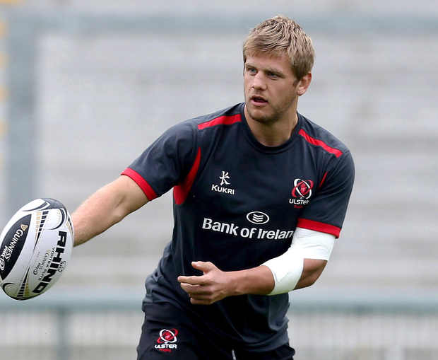 Ulster Rugby Captain's Run, Kingspan Stadium, Belfast 2/10/2014 Chris Henry Mandatory Credit ?INPHO/Presseye/Russell Pritchard