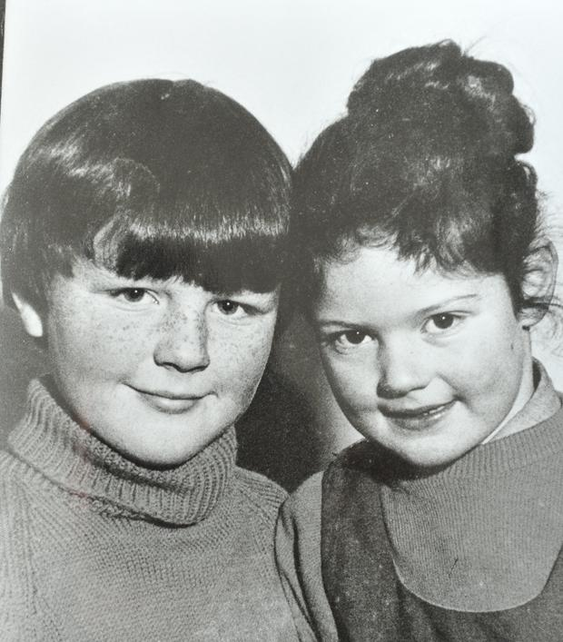 Paul Maxwell with his sister Lisa, who was murdered with Lord Louis Mountbatten by an IRA bomb while sailing near his holiday home in County Sligo, Ireland, on 27th August, 1979