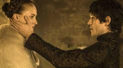 Sansa Stark and Ramsay Bolton in Game of Thrones season five