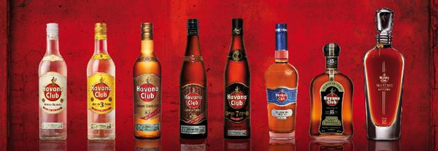 Above: Havana Club range. Improvement in relations means more Cuban products could come to US markets