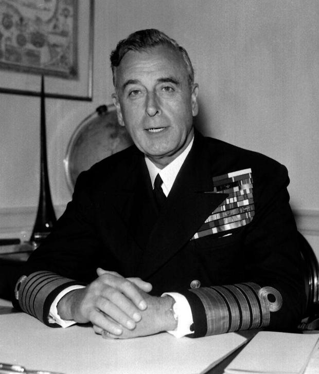 Lord Louis Mountbatten who was killed in 1979