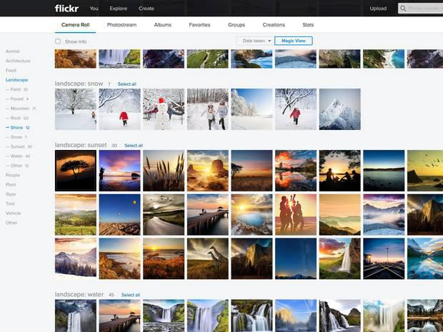 Flickr tool was built to help people easily identify features of pictures but has run into problems as it learns