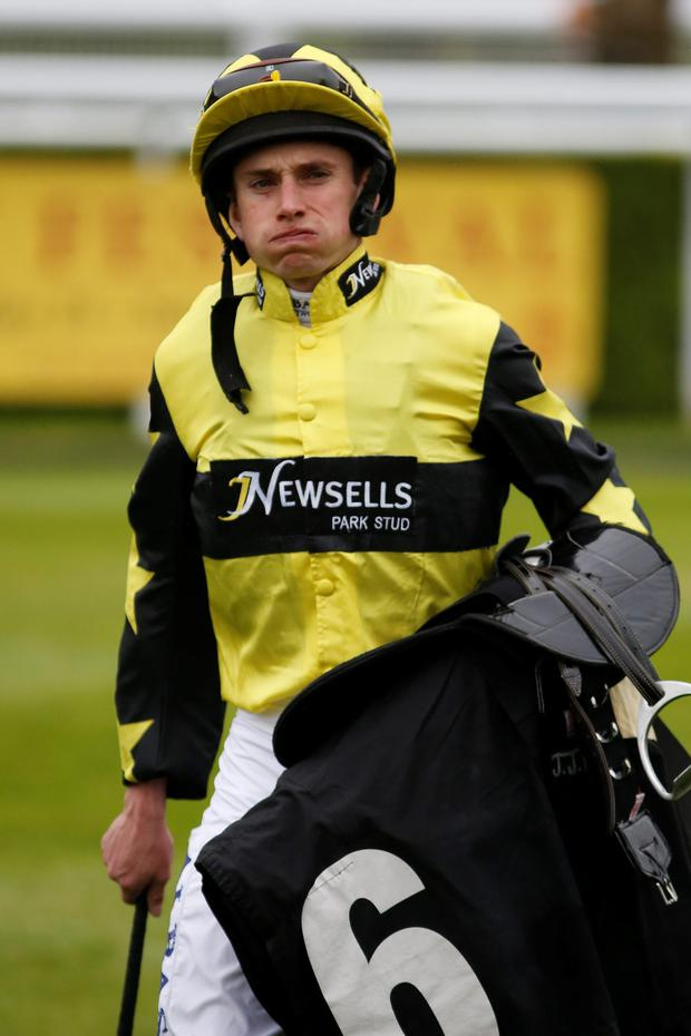 Curragh bound: Ryan Moore yesterday at Goodwood