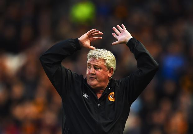Big ask: Hull boss Steve Bruce knows his side must conquer Manchester United
