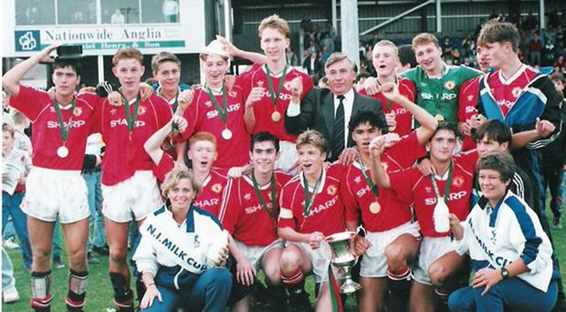 Milk Cup In A Fury At Last Minute Manchester United Pull