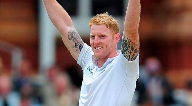 Red hot: Ben Stokes continued his stunning form