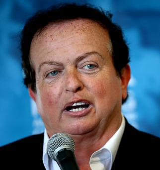 Marty Morrissey (pictured) was the subject of a jibe from Joe Brolly