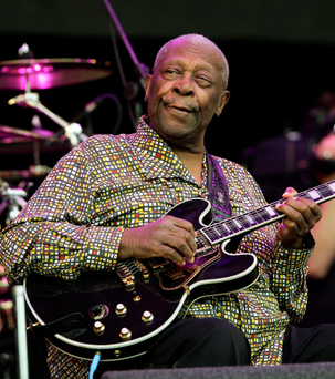 US blues musician BB King who died earlier this month