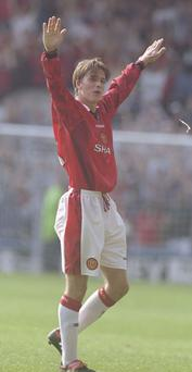 David Beckham was one of the many Man Utd players who participated in the Milk Cup