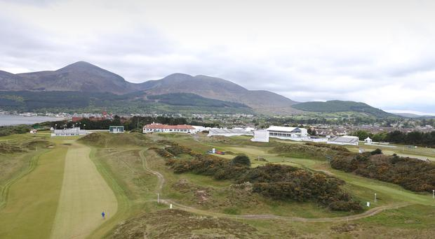 Photographer ?Matt Mackey - Presseye.com 25th May 2015 Dubai Duty Free Irish Open at Royal County Down Golf Club, Newcastle, Northern Ireland.